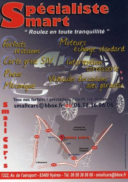 Vente automobile garage hyeres small car 39 s bat sud for Garage automobile hyeres